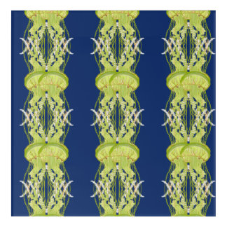 Green Jellyfish Acrylic Print
