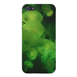 Green Jellyfish Hard Shell Case for iPhone 4/4S iPhone 5 Covers