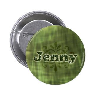 Green Jenny Button