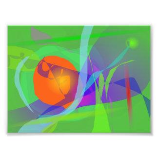 Green Joy Photo Print