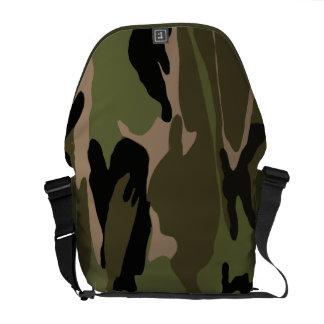 Green Jungle Camo Commuter Bag