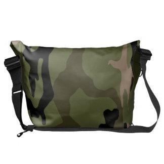 Green Jungle Camo Commuter Bags