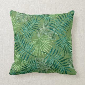 Green Jungle Fever Cushion