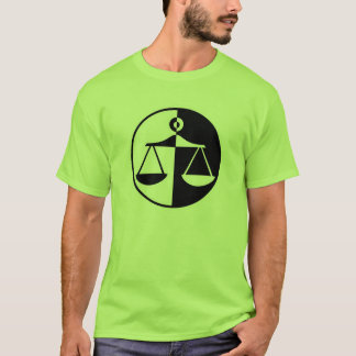 Green Justice Scales T-Shirt