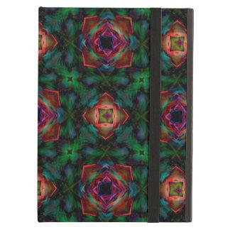 Green Kaleidoscope Hippie Art Pattern Case For iPad Air