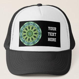 Green Kaleidoscope Trucker Hat
