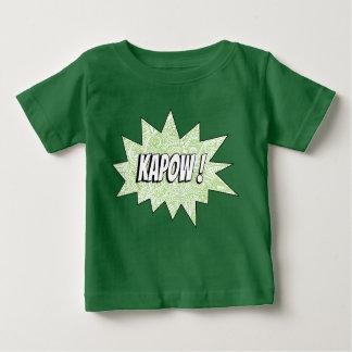 Green KAPOW! Tee