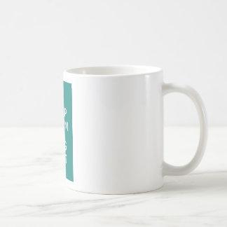 Green Keep Calm And Log Out Coffee Mug