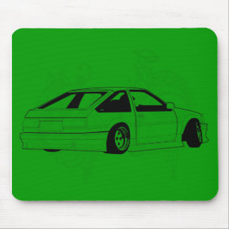 Green KIS Levin AE86 Mouse Pad