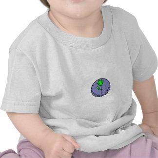 Green Kitty Yoga T-shirts