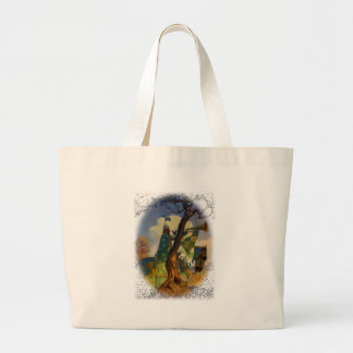Green Knight Large Tote Bag