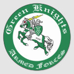 Green Knights MMC Club Sticker