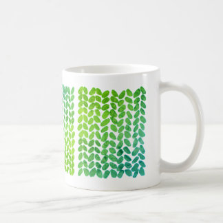 Green Knitting Mug