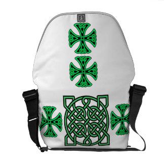 Green Knot Rickshaw Medium Zero Messenger Bag