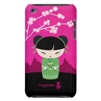 Green kokeshi - iPod touch case
