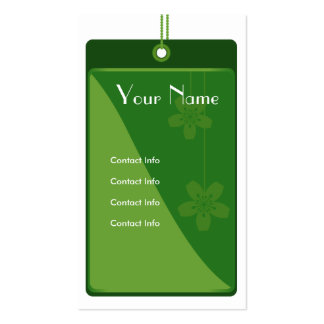 Green Label Business Card