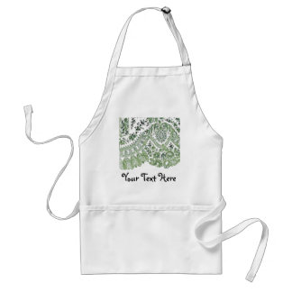 Green Lace Standard Apron