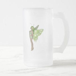 Green Lady Fairy 2 - 3D Fantasy Art - Mug