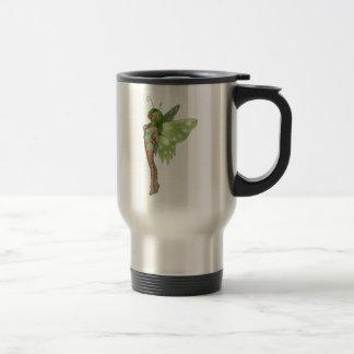 Green Lady Fairy 2 - 3D Fantasy Art - Mugs