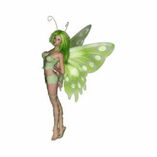 Green Lady Fairy 2 - 3D Fantasy Art - Acrylic Cut Outs