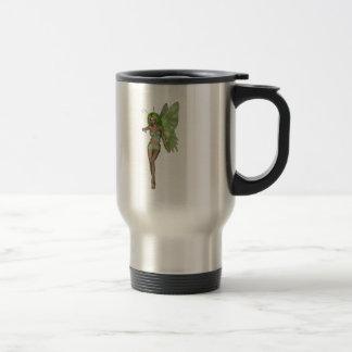 Green Lady Fairy 6 - 3D Fantasy Art - Mug