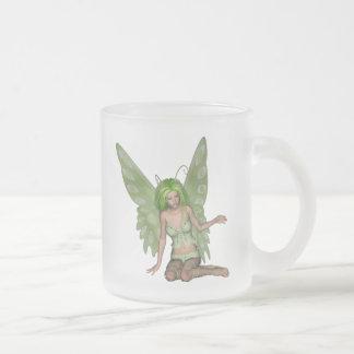 Green Lady Fairy 7 - 3D Fantasy Art - Coffee Mugs