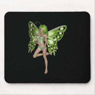 Green Lady Fairy 8 - 3D Fantasy Art - Mouse Mats