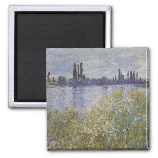 Green lake - Monet Magnet