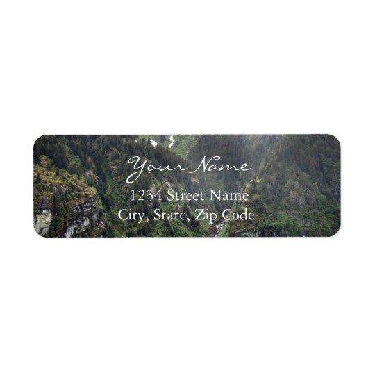 Green Landscape Address Labels