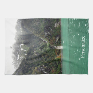 Green Landscape Kitchen Towel