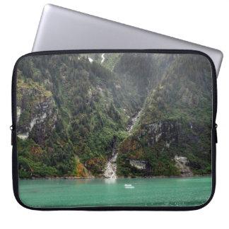 Green Landscape Laptop Sleeve