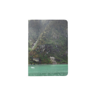 Green Landscape Passport Holder