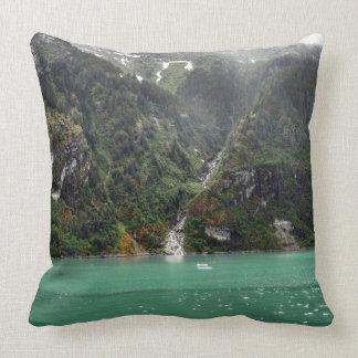 Green Landscape Pillow
