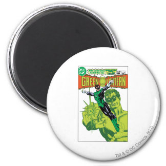 Green Lantern - Action Comic Cover 6 Cm Round Magnet