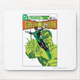 Green Lantern - Action Comic Cover Mouse Mat