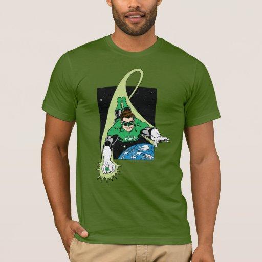 Green Lantern and Earth T-Shirt