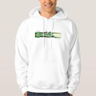 Green Lantern and Logo Hoodie