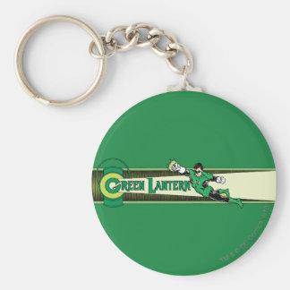 Green Lantern and Logo Key Ring