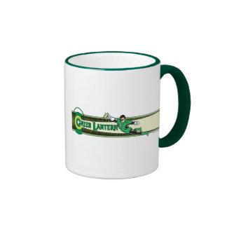 Green Lantern and Logo Coffee Mug