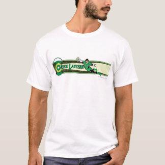 Green Lantern and Logo T-Shirt
