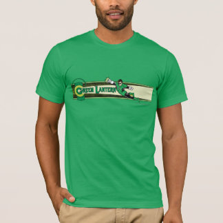 Green Lantern and Logo T-Shirt