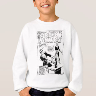 Green Lantern and Sinestro Cover, Black and White Sweatshirt