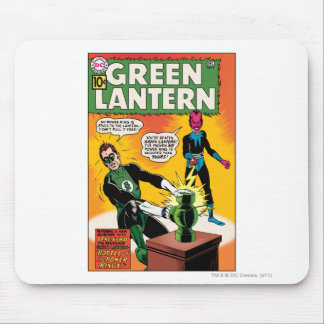 Green Lantern and Sinestro Cover Mouse Pads