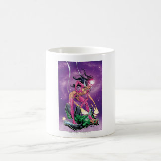 Green Lantern and Star Sapphire - Color Coffee Mug