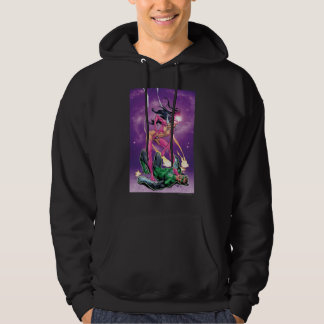 Green Lantern and Star Sapphire - Color Hoodie
