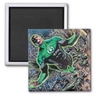Green Lantern and the Moon Square Magnet
