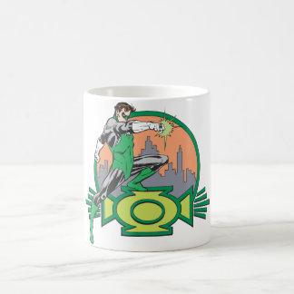 Green Lantern & Cityscape Coffee Mug
