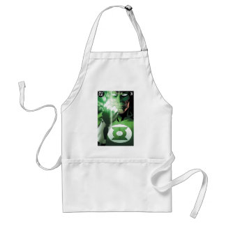Green Lantern close up cover Aprons