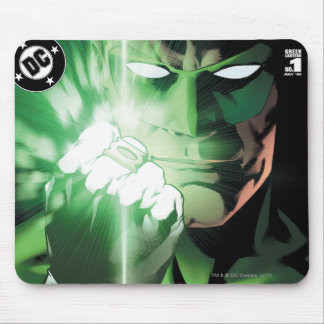 Green Lantern close up cover Mouse Mat