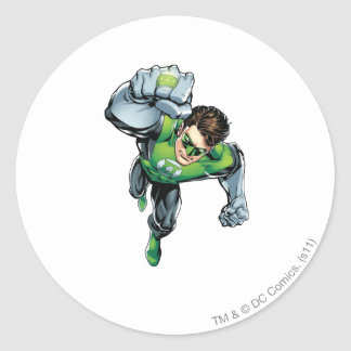 Green Lantern - Comic,  Arm Raise Classic Round Sticker